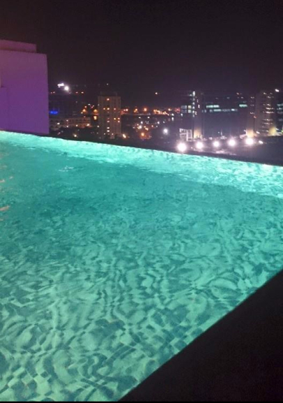 India Chennai Roof Top Infinity Pool