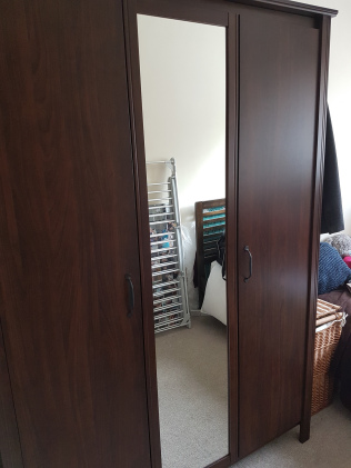 decorating wardrobe built